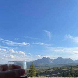 Cheers to the Sawtooths