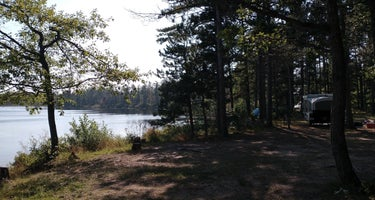 Andrus Lake State Forest Campground