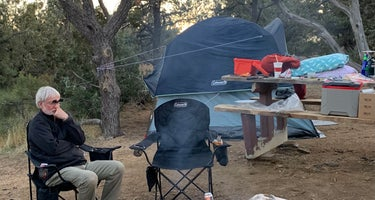 Mid Hills Campground - Mojave National Preserve