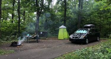 Mathews Arm Campground