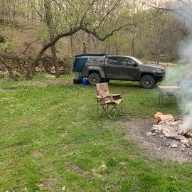 My favorite campsite