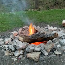 A nice campfire