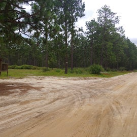 Leading in to campground