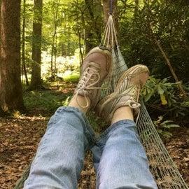Nice spots to hang a hammock!