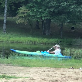 You can rent a kayak or canoe for the day