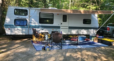 Brevoort Lake Campground