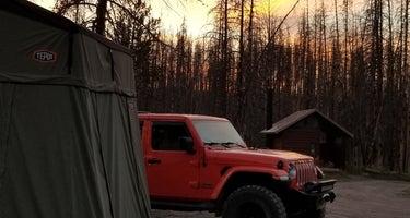 Grassy Lake Road Campsites