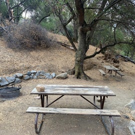 Site 7 - It is on the edge of the campground. There's a hill to the east so you get shade until about 10am and then you get roasted the rest of the day.