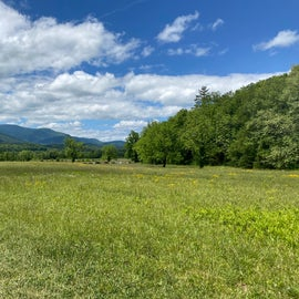 Cades Cove Valley as seen on the loop