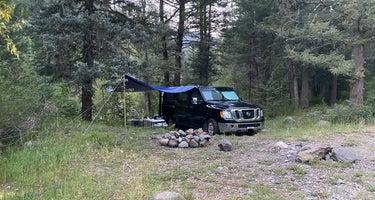 East Fork San Juan River, USFS Road 667 - Dispersed Camping