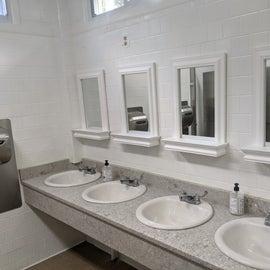 Toilet/Sink side of the bathroom