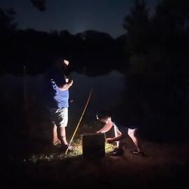 night fishin'
