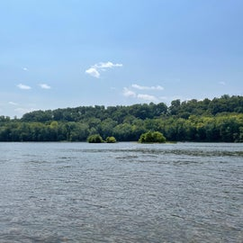 Potomac River from the boat ramp