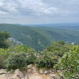 View of Mt. Minsi from Mt. Tammany