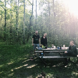 Lady's Slipper Campground, Site 11