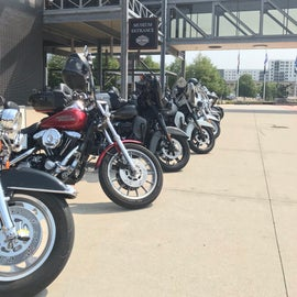 close to the Harley museum