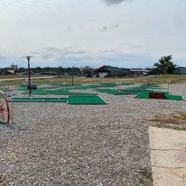 cute mini golf area