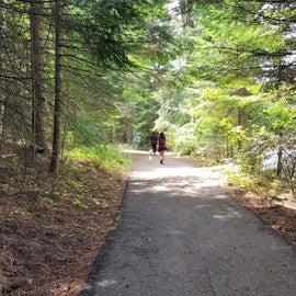 hiking/ biking trail