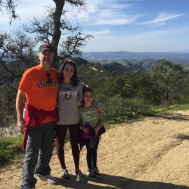 Don't miss the scenic hike around the summit of Mount Diablo