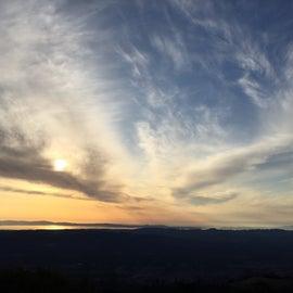 Sunset atop Mt. Diablo