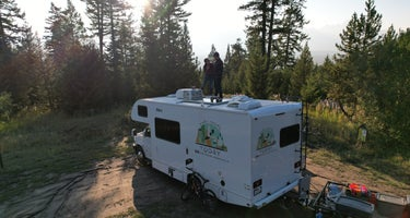 Taylor Ranch Road Dispersed Camping