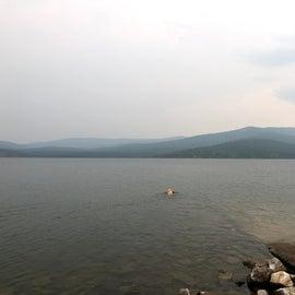 Lake Mary Ronan Boat Dock