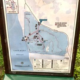 Lake Mary Ronan Map