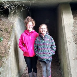 Exploring WWII buildings