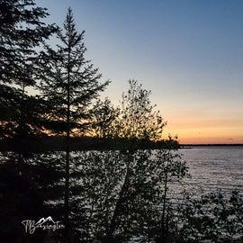 Sunset View of Lake Kabetogama