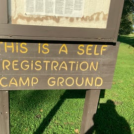 They make it clear that it is self-registration (no reservations taken or needed)
