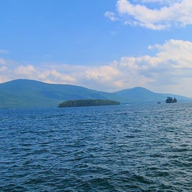 Quick drive to Lake George