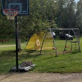 Arndt's Aroostook River playground
