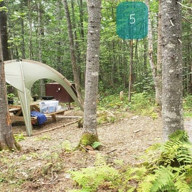 Lunksoos Tent site 5