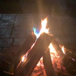 nightly fires ❤️🔥