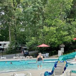 The Pool w/ Slide