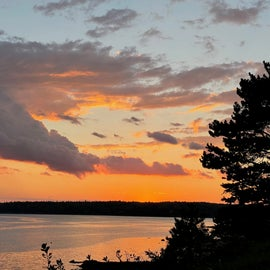 Sunset on Frenchman's Bay - Lamoine State Park