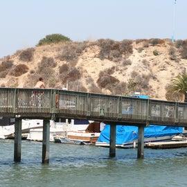 Bridge and bike trail