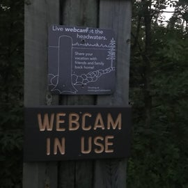 when you walk across the headwaters of the Mississippi, make sure to go to the site and screenshot your experience from the webcam!  ;D