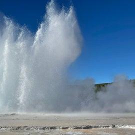 Great Fountain Geyser - June 2021