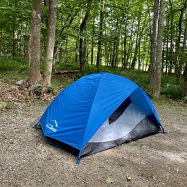 campsite 25 at Camden Hills