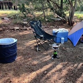 camp sites are all about this size.