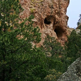 Awesome caves in Cave Creek Canyon