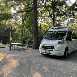 Ridgeline Campground site R22