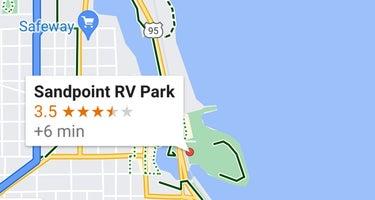 Sandpoint Edgewater RV Park