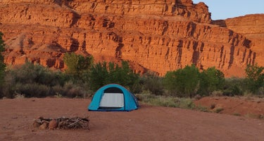 Mexican Hat Rock Dispersed Camping