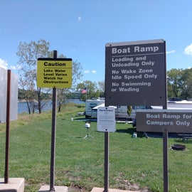 boat ramp for campers only