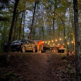 Boujee Camp Lighting