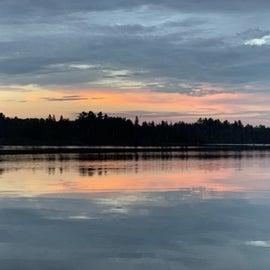 Sunset on Devoe Lake