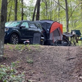 Explorer with Rightline Tent