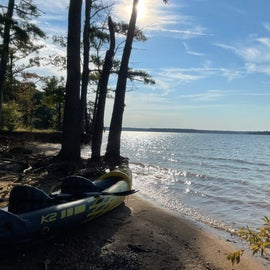 early morning kayak time
